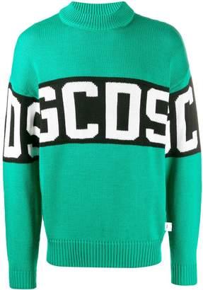 GCDS knitted logo jumper