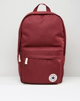 Converse Camo Patch Backpack In Red