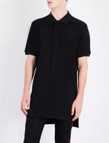 Givenchy Contrast-panel cotton-piqué polo shirt