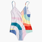 Madewell Mara Hoffman® Classic One-Piece Swimsuit in Meridian Print