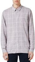 Topman Slim Fit Plaid Shirt