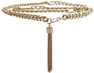 Reiss Cleo - Chain Belt in Gold