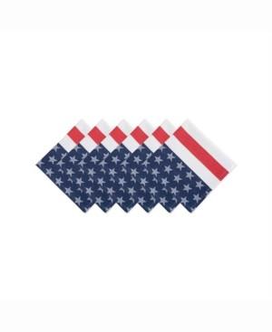 Design Imports Stars and Stripe Napkin Set of 6
