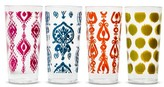 Mudhut Rayna 22oz Plastic Tall Tumbler - Set of 4