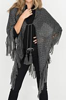 2 Chic Shimmer Knit Wrap