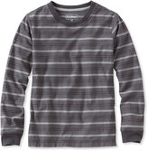 L.L. Bean Boys' Bean's Unshrinkable Shirt, Long-Sleeve Stripe