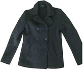Fred Perry Green Wool Jacket for Women