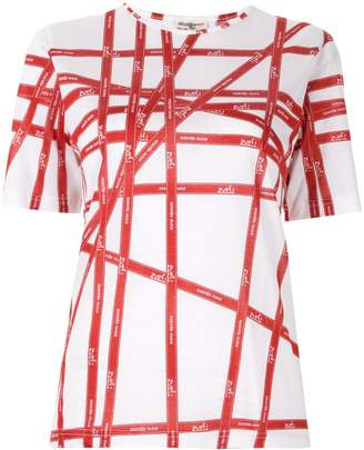 Hermes Pre-Owned geometric print short-sleeved T-shirt