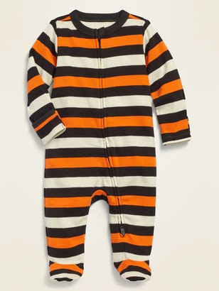 Old Navy Halloween Fold-Over Mitten Footie Pajama One-Piece for Baby