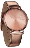 RumbaTime Women's SoHo Metallic Watch - Rose Gold