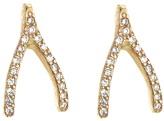 Jennifer Meyer wishbone studs earring