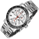 Raymond Weil W1 - White Stainless Steel Chronograph Watch w/ Tachymetre