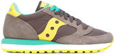 Saucony panel lace-up sneakers - women - Cotton/Leather/Nylon/rubber - 37