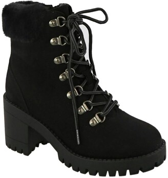 Top Moda Lace Up Booties