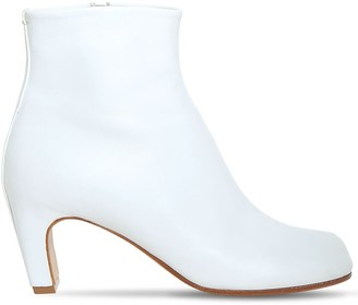 Maison Margiela 60mm Tabi Leather Ankle Boots