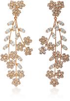 Jennifer Behr Rose Gold Swarovski Crystal Earrings