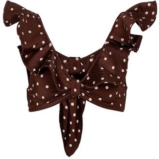 Johanna Ortiz Rolling Hills polka-dot bikini top