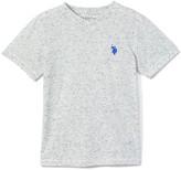 Uspa USPA Boys' Tee Shirts GREY - Gray Logo V-Neck Tee - Boys
