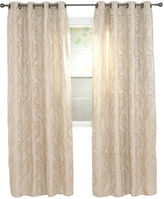 Asstd National Brand Cambridge Home Dinah Jacquard Grommet-Top Curtain Panel