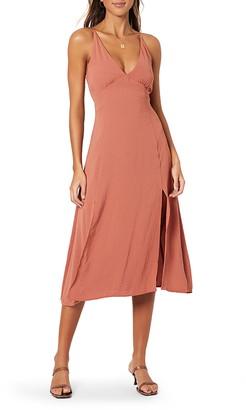 MinkPink Akora Sleeveless Midi Dress