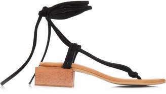 Alohas Sandals Palm Camel Sandals Size: 35