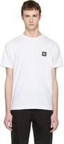 Stone Island White Small Logo T-shirt