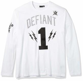 Sean John Men's Defiant 1 Long Sleeve Crew Neck Tee