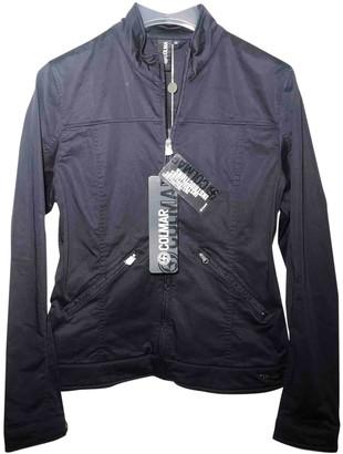 Colmar Navy Cotton Jacket for Women