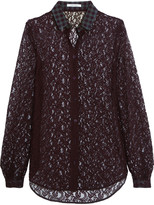 Carven Corded lace blouse