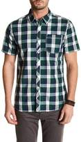 Seven7 Classic Fit Short Sleeve Plaid Shirt