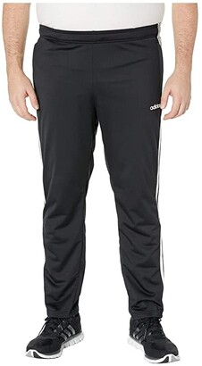 adidas Big Tall Essentials 3-Stripe Tricot Pant Tapered