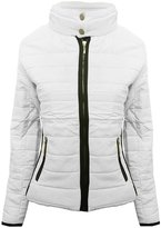 Generic Womens Ladies Quilted Puffer Bubble Bomber Stylish Jacket Coat
