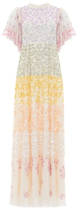 Needle & Thread Chakra Sequin Gown