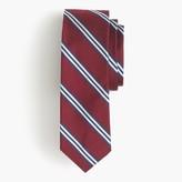 J.Crew English silk tie in multistripe