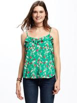 Old Navy Relaxed Ruffle-Trim Tank for Women