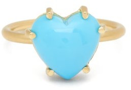 Irene Neuwirth Love Turquoise & 18kt Gold Ring - Womens - Blue Gold