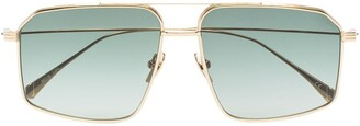 KALEOS Sisters aviator-frame sunglasses