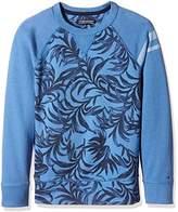 Tommy Hilfiger Boys' Palm Leaf CN Hwk L/S Sweater