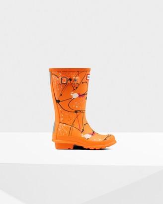 Hunter Original Big Kids Molecular Splash Print Rain Boots
