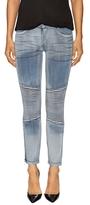Marissa Webb Karin Denim Knee Pipe Cropped Jeans