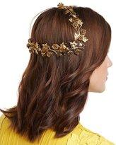 Jennifer Behr Rosalie Floral Coronet Headband