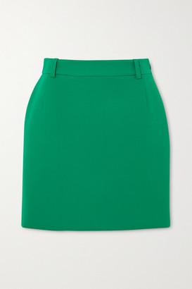 Balenciaga Wool-blend Mini Skirt - Green