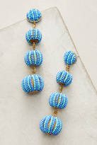 Suzanna Dai Candy Stripe Drop Earrings
