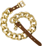 Michael Kors Double-Wrap Chain Bracelet