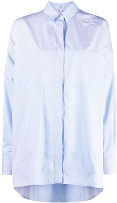 Loewe Multi-Panel Asymmetric-Hem Shirt