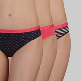 Thumbnail for your product : Dim Pack of 3 Cotton Stretch Knickers