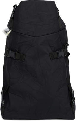 The Viridi-anne Black Macro Mauro Edition Strap Backpack