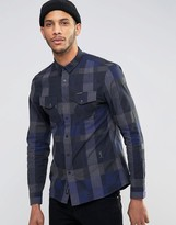 Religion Checked Long Sleeve Shirt