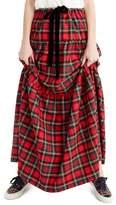 J.Crew J. Crew Tartan Plaid Tiered Maxi Skirt (Regular & Petite)