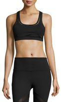 Vimmia Edge Mesh-Panel Sports Bra, Black